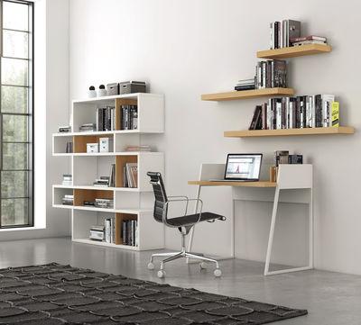 bureau working blanc ch ne pop up home. Black Bedroom Furniture Sets. Home Design Ideas