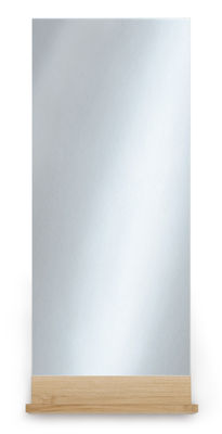 Miroir antlitz vertical h 140 cm vertical ch ne for Miroir vertical