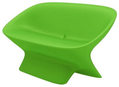 Sofà Ublo di Qui est Paul ? - Verde - Materiale plastico