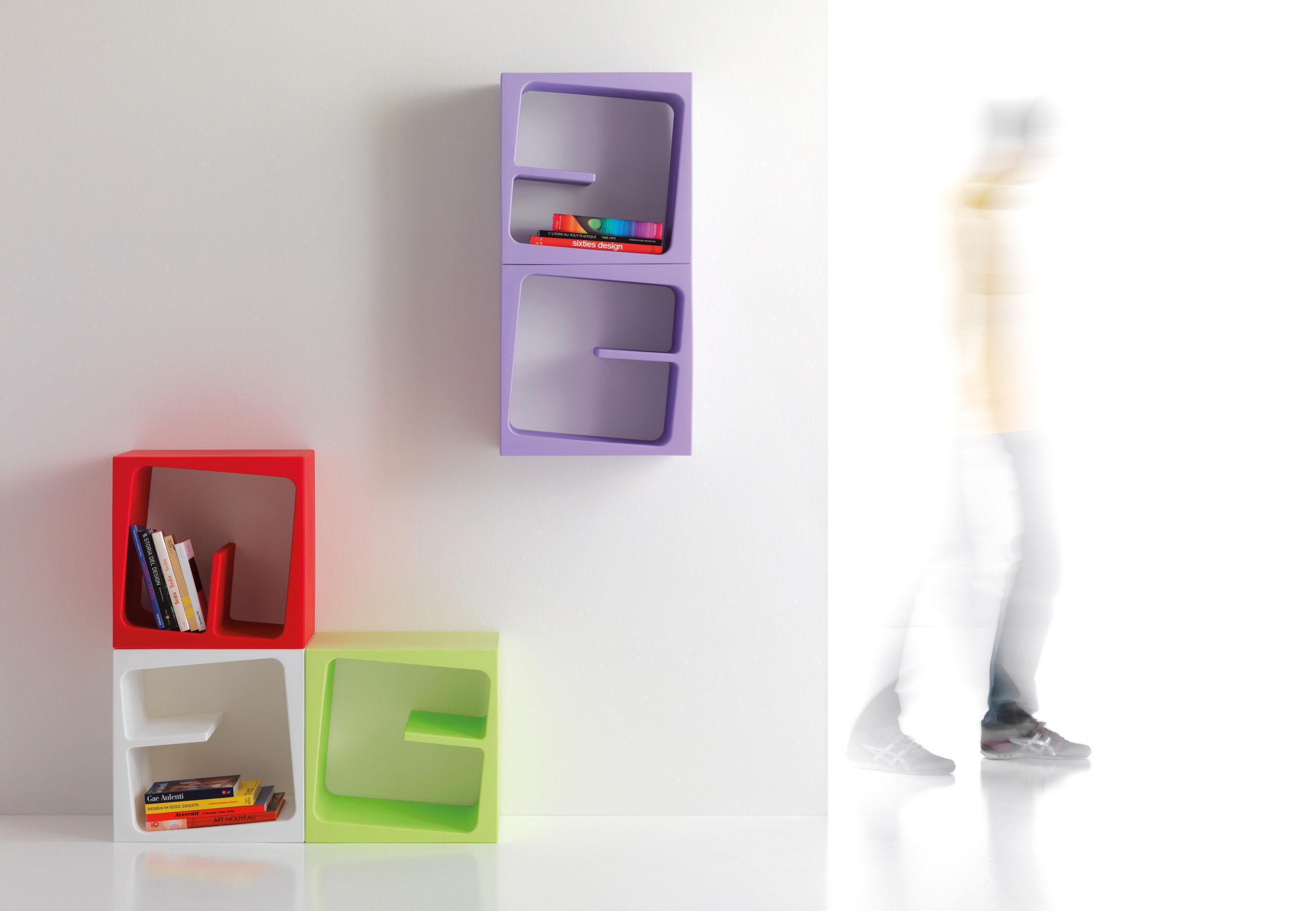 quby regal modular schwarz by b line made in design. Black Bedroom Furniture Sets. Home Design Ideas