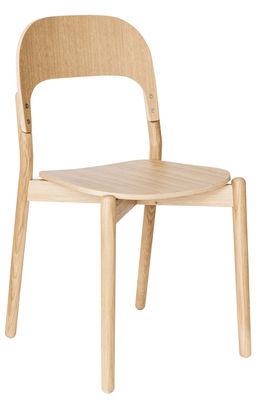 Chaise Paula / Chêne - Hartô chêne naturel en bois