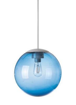Image of Suspension Spheremaker / ? 25 cm - Fatboy bleu en mati?re plastique