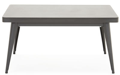 Tavolino 55 - / 90 x 55 cm di Tolix - Nero - Metallo
