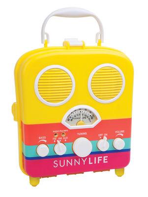 Déco - Pour les enfants - Radio portable Havana / Enceinte - Étanche - Sunnylife - Havane / Jaune & multicolore - Matière plastique, Mousse