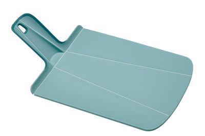 Cuisine - Ustensiles de cuisines - Planche à découper Chop2Pot / Pliable - L 38 cm - Joseph Joseph - Bleu clair - Polypropylène