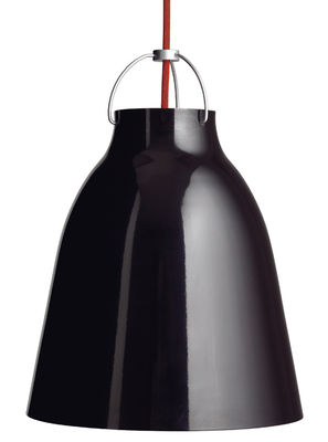 Lighting - Pendant Lighting - Caravaggio XS Pendant by Lightyears - Black - Ø 11 cm - Lacquered aluminium