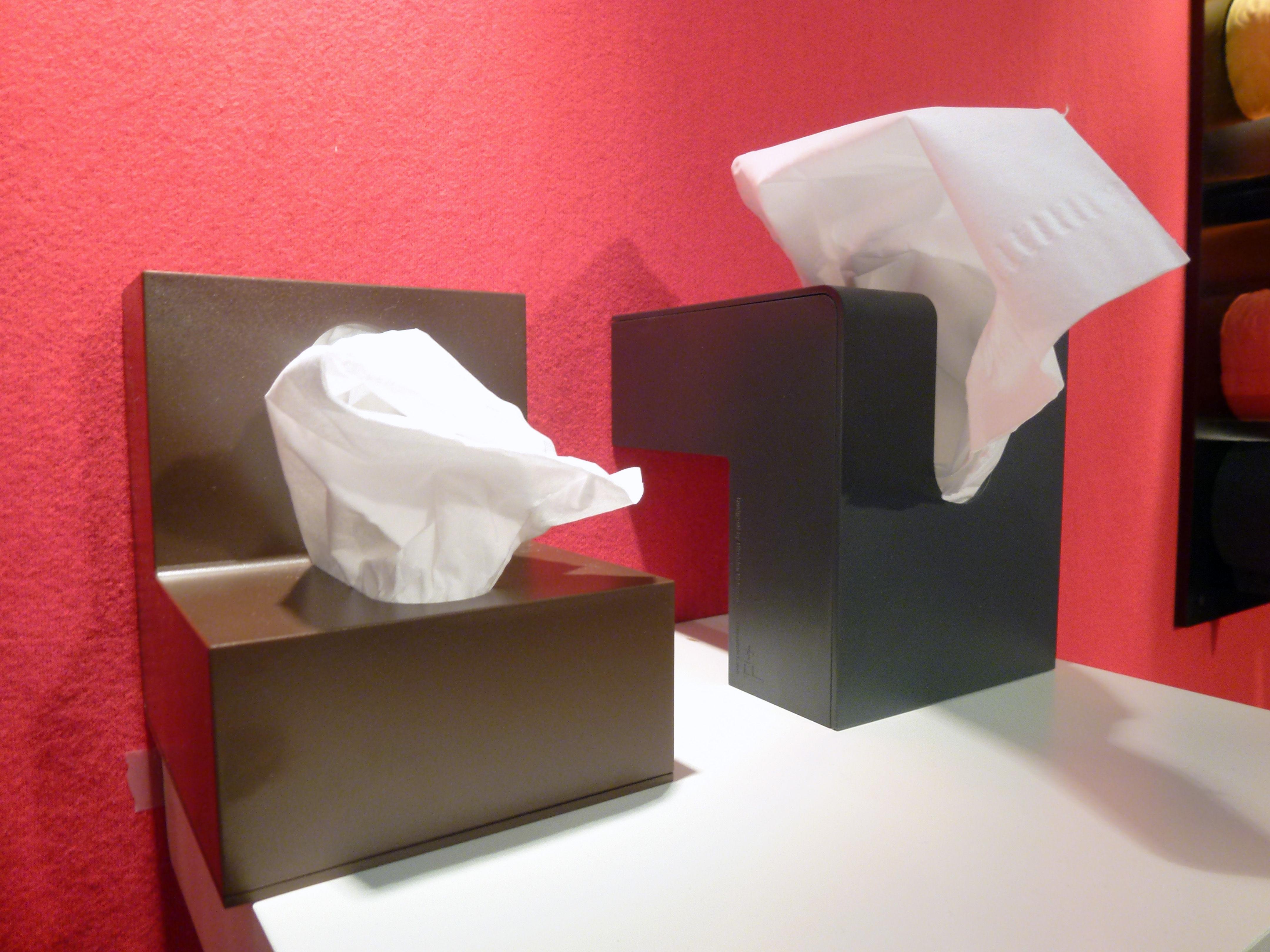 Bo te mouchoirs folio blanc pa design for Deco boite a mouchoir