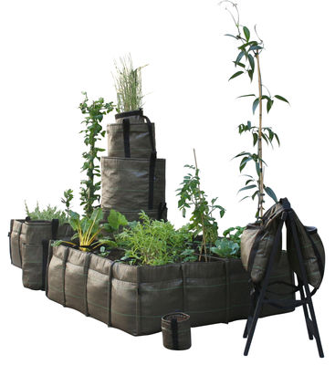 jardini re bacsquare geotextile outdoor 550 l 16 carr s 550l marron bacsac. Black Bedroom Furniture Sets. Home Design Ideas