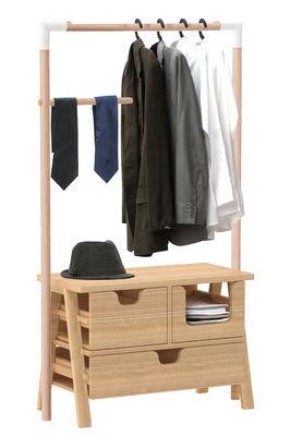 Furniture - Shelves & Storage Furniture - Seven days Chest of drawers - Modular stand - H 156 cm by Spécimen Editions - Oak - Solid oak