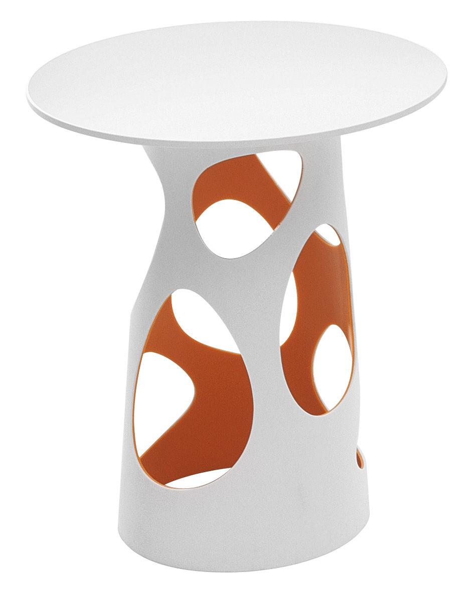 Liberty Table Leg H 74 Cm White Orange By MyYour