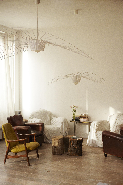 vertigo pendant white by petite friture. Black Bedroom Furniture Sets. Home Design Ideas