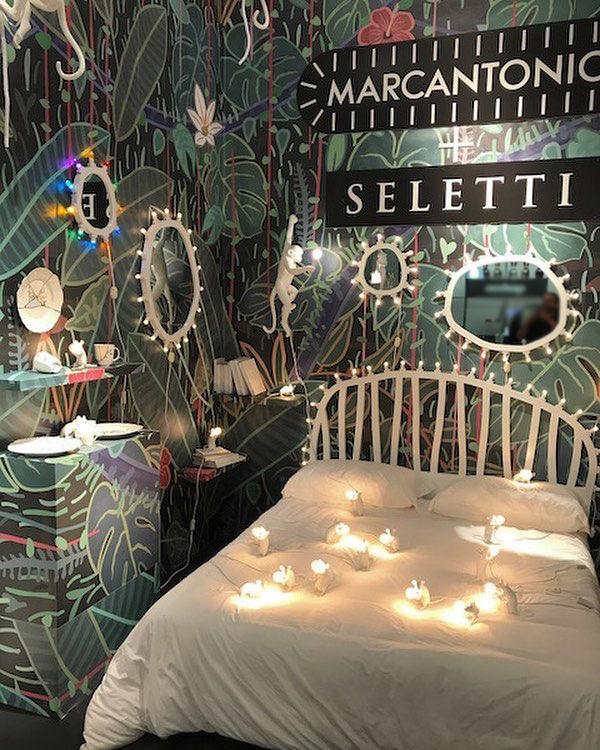 t te de lit luminaire l 170 cm ampoules incluses blanc seletti. Black Bedroom Furniture Sets. Home Design Ideas