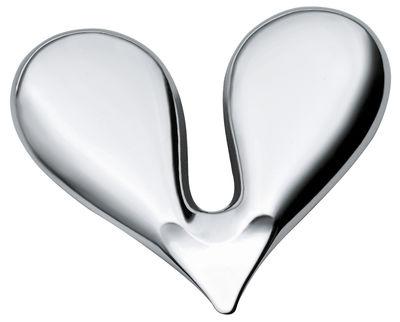 Kitchenware - Handy & cunning - Nut Splitter Nut cracker by Alessi - Steel - Stainless steel