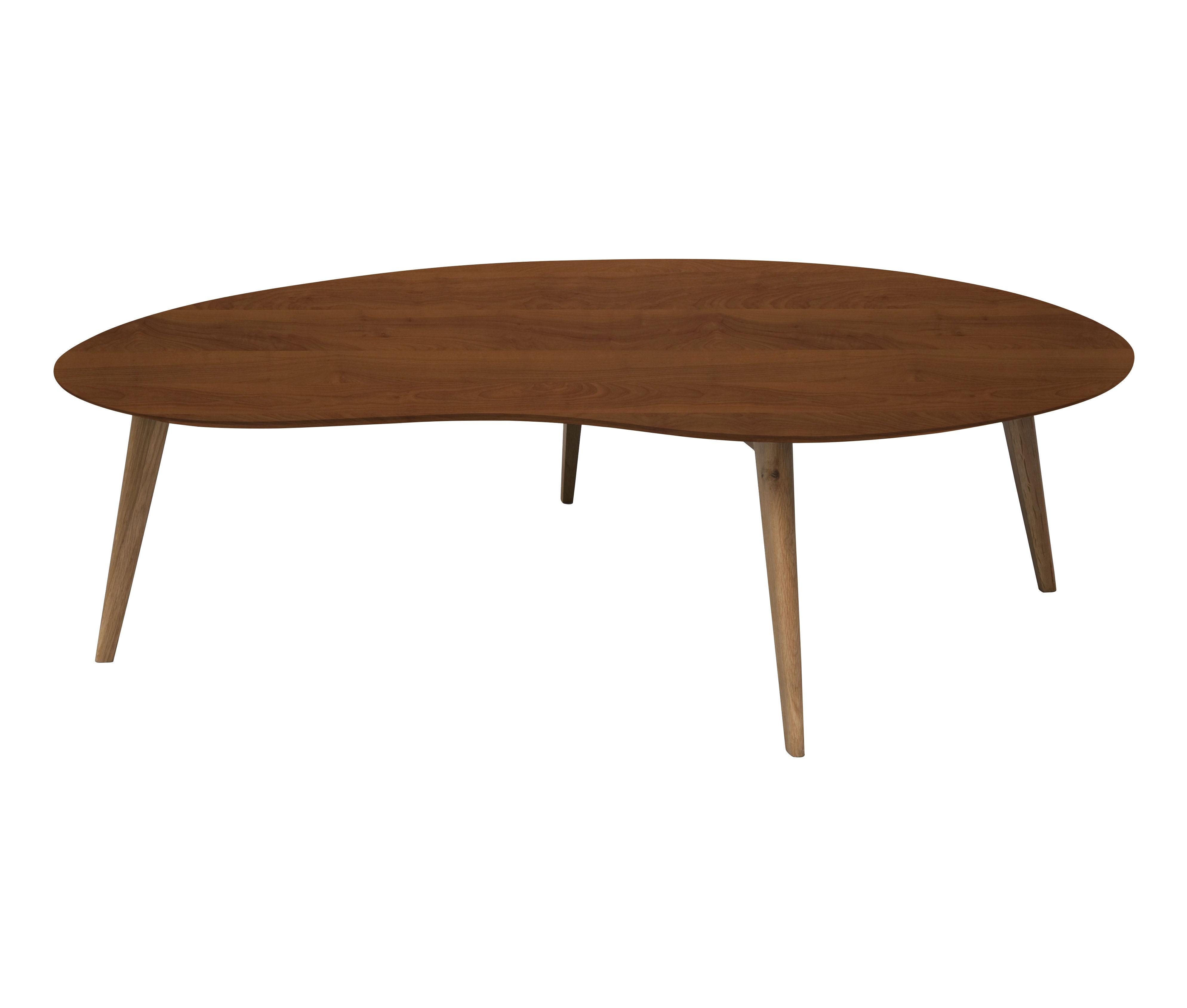 table basse lalinde haricot xxl l 130 cm teck pieds ch ne sentou edition. Black Bedroom Furniture Sets. Home Design Ideas