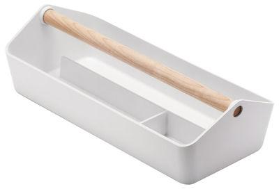 Déco - Boîtes déco - Boîte Cargo Box - Alessi - Blanc - Bois, PMMA