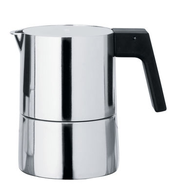 Tableware - Tea & coffee - Pina Italian espresso maker - 3 cups by Alessi - 3 cups - Bakelite, Cast aluminium