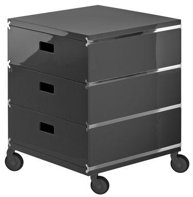 caisson roulettes plus unit 3 tiroirs empil s sur. Black Bedroom Furniture Sets. Home Design Ideas