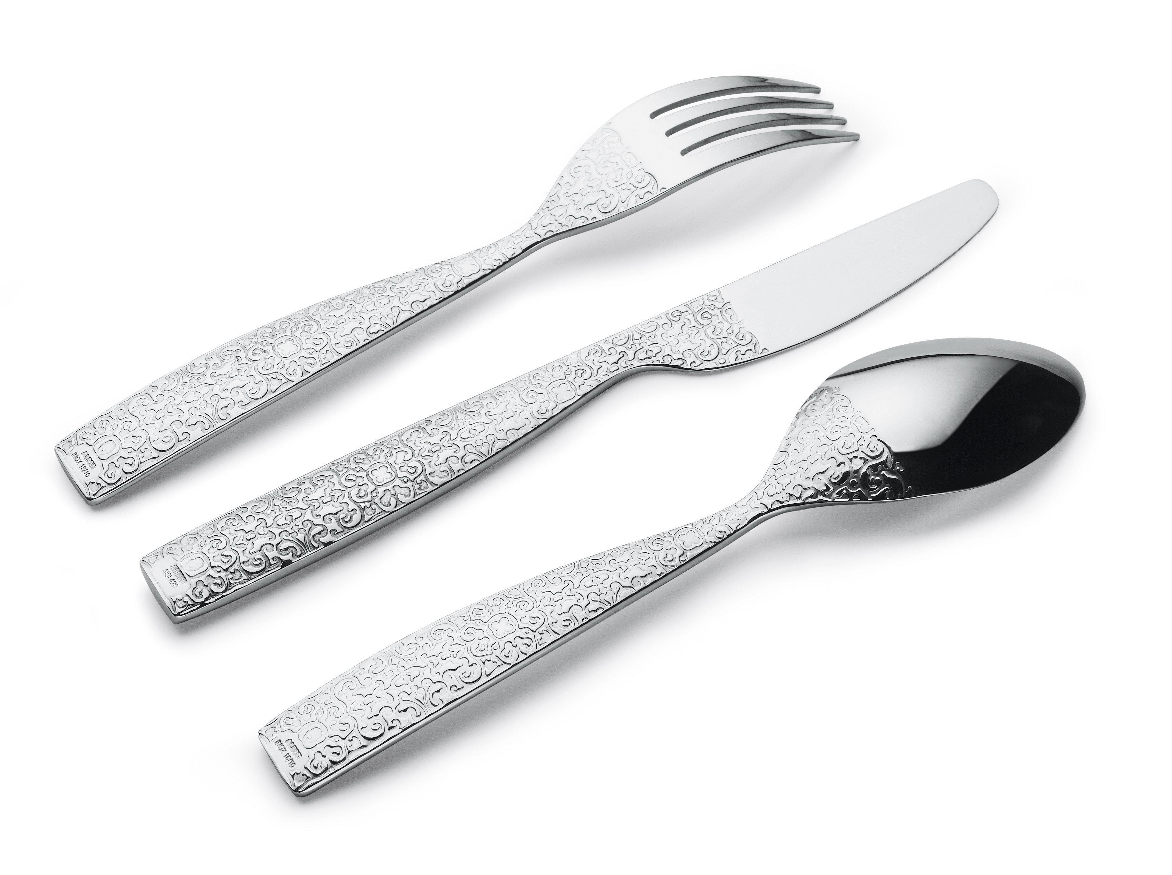 Couteau de table dressed couteau de table acier alessi for Alessi dressed prezzo