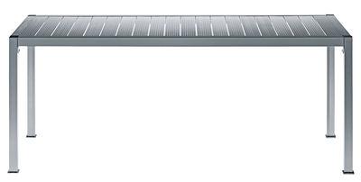 Jardin - Tables de jardin - Table de jardin Thali / 160 x 90 cm - Driade - L 160 x P 90 x H 72 - Aluminium