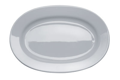 Plat Platebowlcup - A di Alessi blanc en céramique