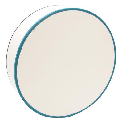 Luminaire - Appliques - Applique Tambourin Coton / Ø 33 cm - Non électrifié - Maison Sarah Lavoine - Ecru / Biais noir & bleu - Coton, Métal
