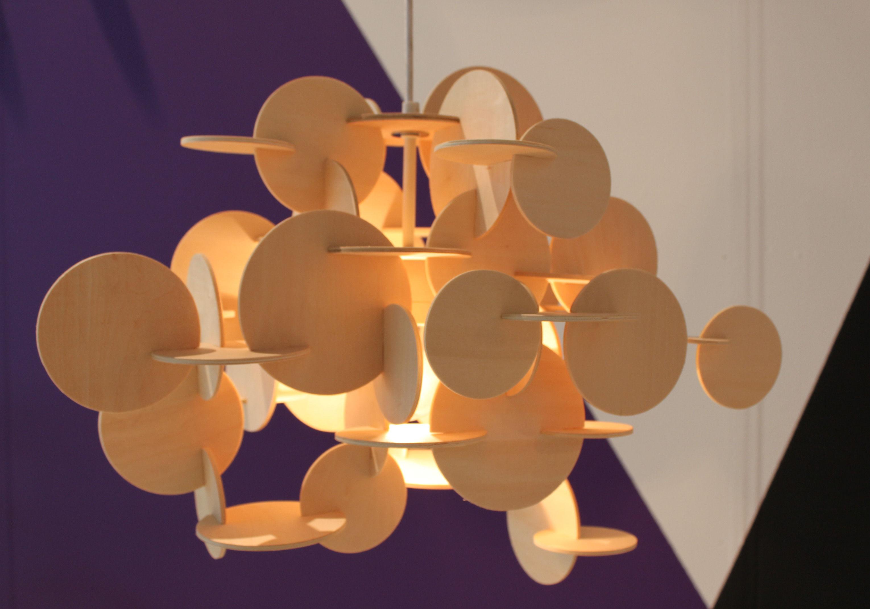 bau large pendant h 49 cm natural wood by normann copenhagen. Black Bedroom Furniture Sets. Home Design Ideas