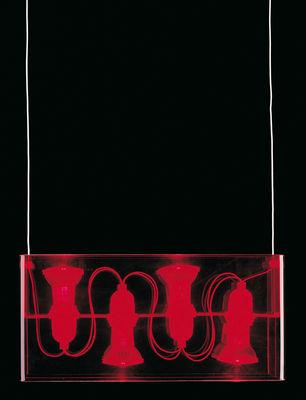 duplex sospensione rosso by fontana arte made in design. Black Bedroom Furniture Sets. Home Design Ideas