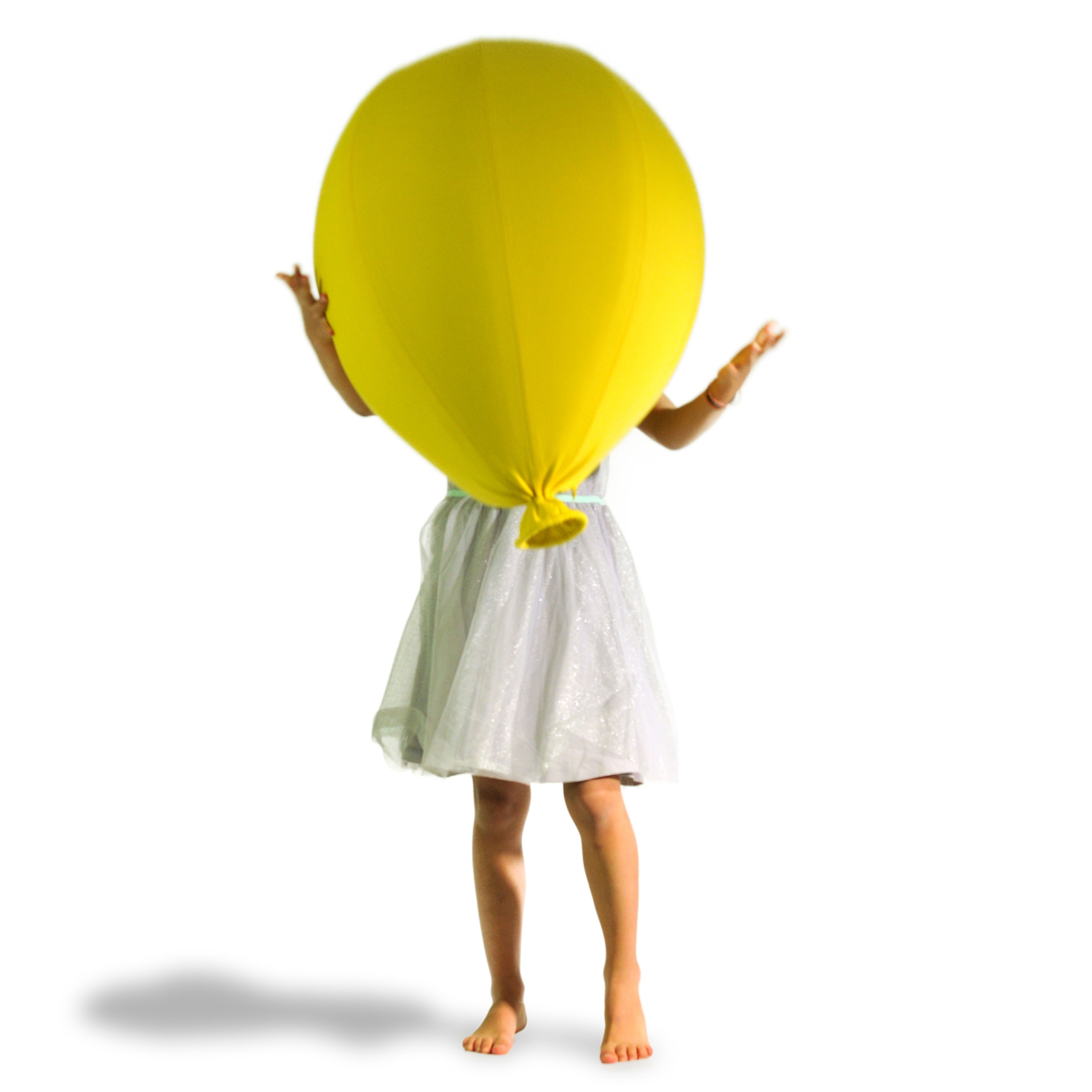 Baloon Pouf Friendship Yellow By YOUNOW