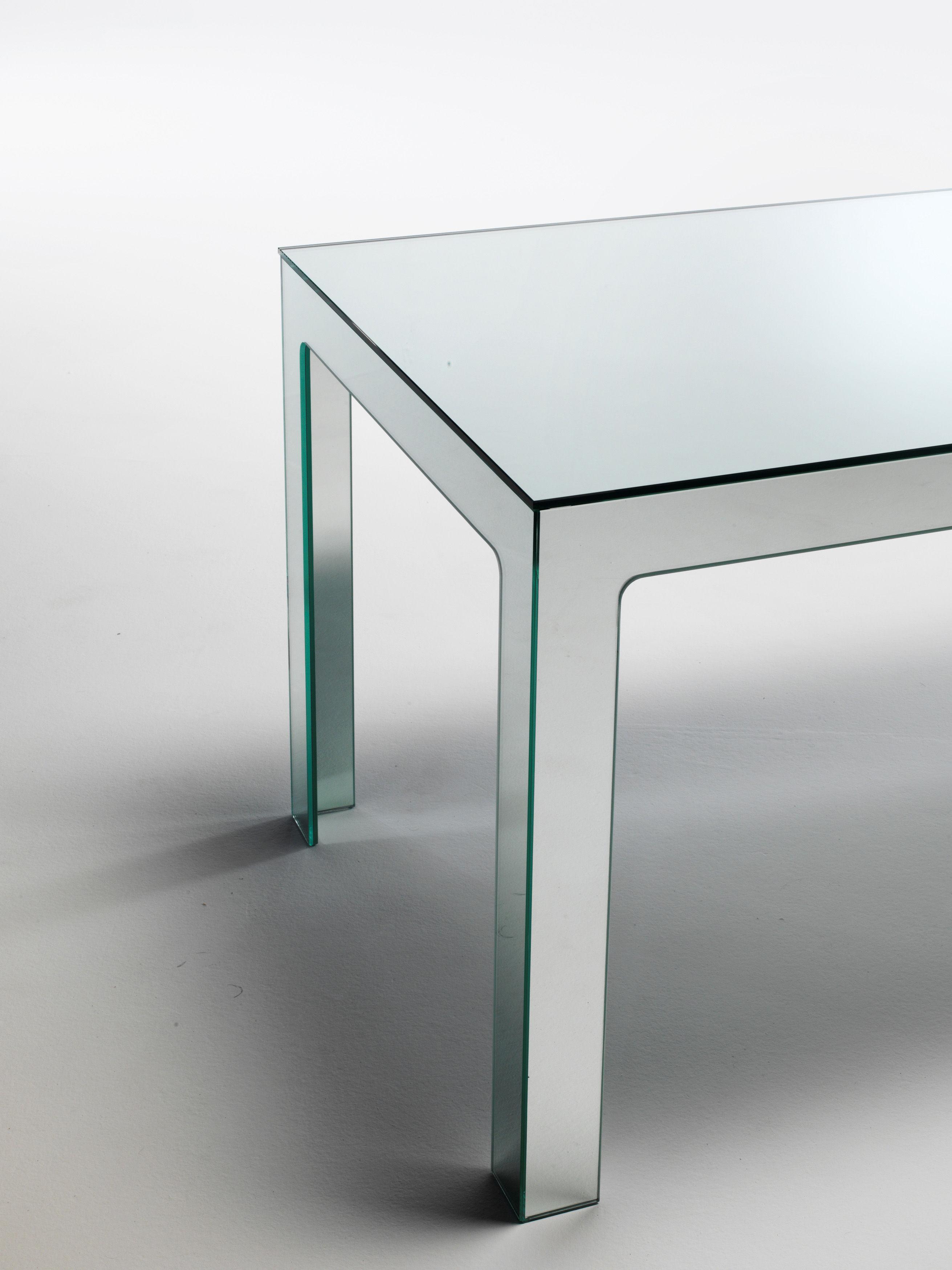 Mirror mirror table 200 x 80 cm mirror by glas italia for Mirror 80 x 80