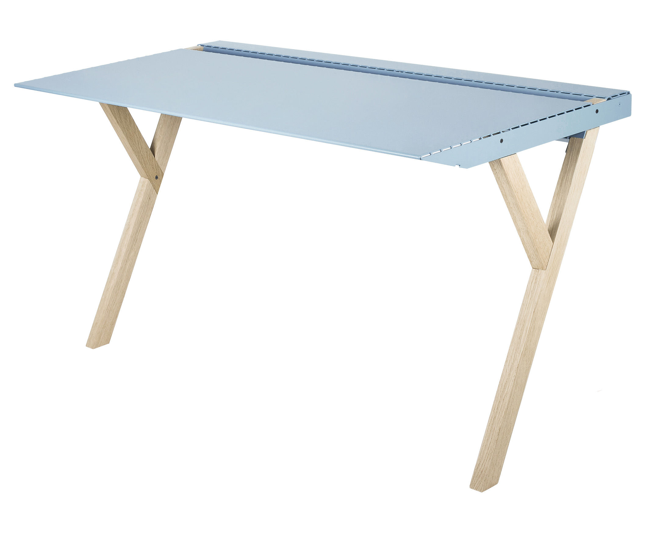 recto verso d1 desk blue by linadura