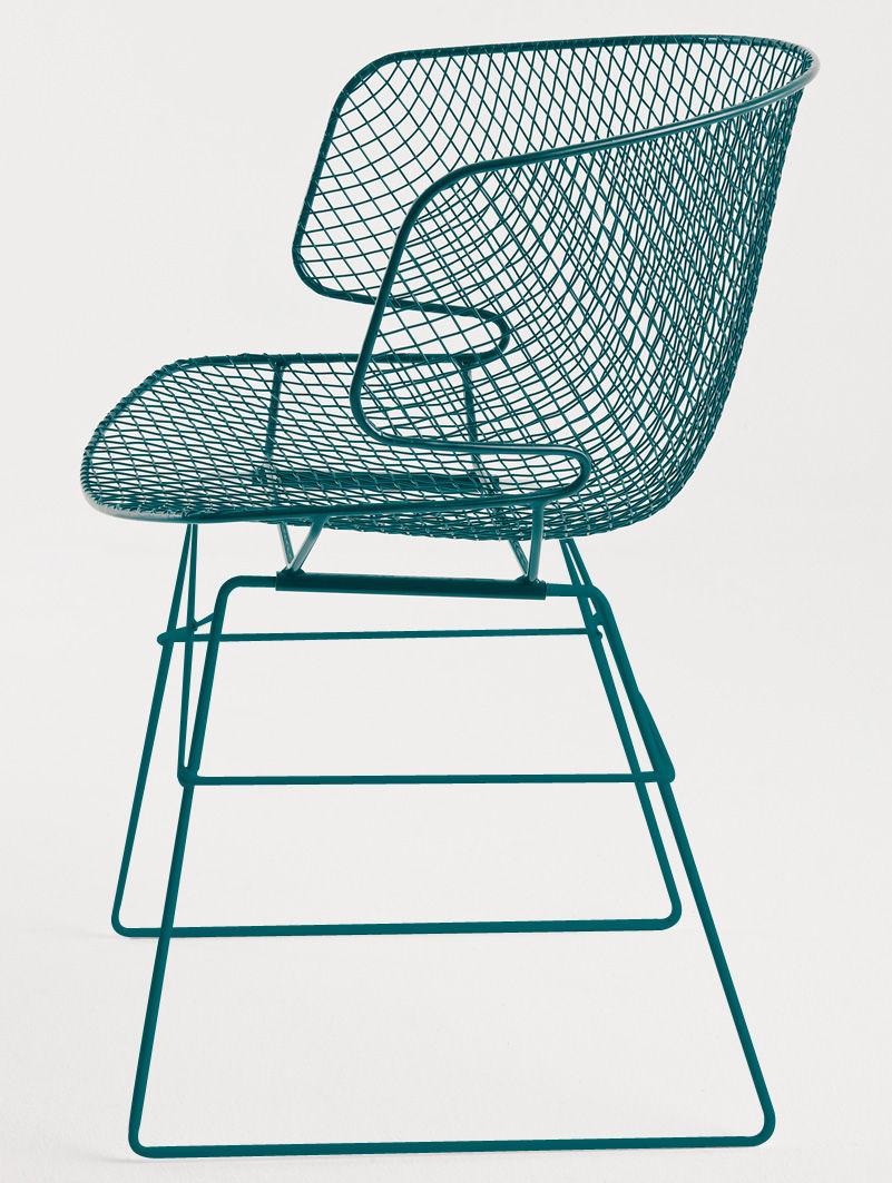 fauteuil arkys m tal structure vert fonc si ge vert fonc eumenes. Black Bedroom Furniture Sets. Home Design Ideas