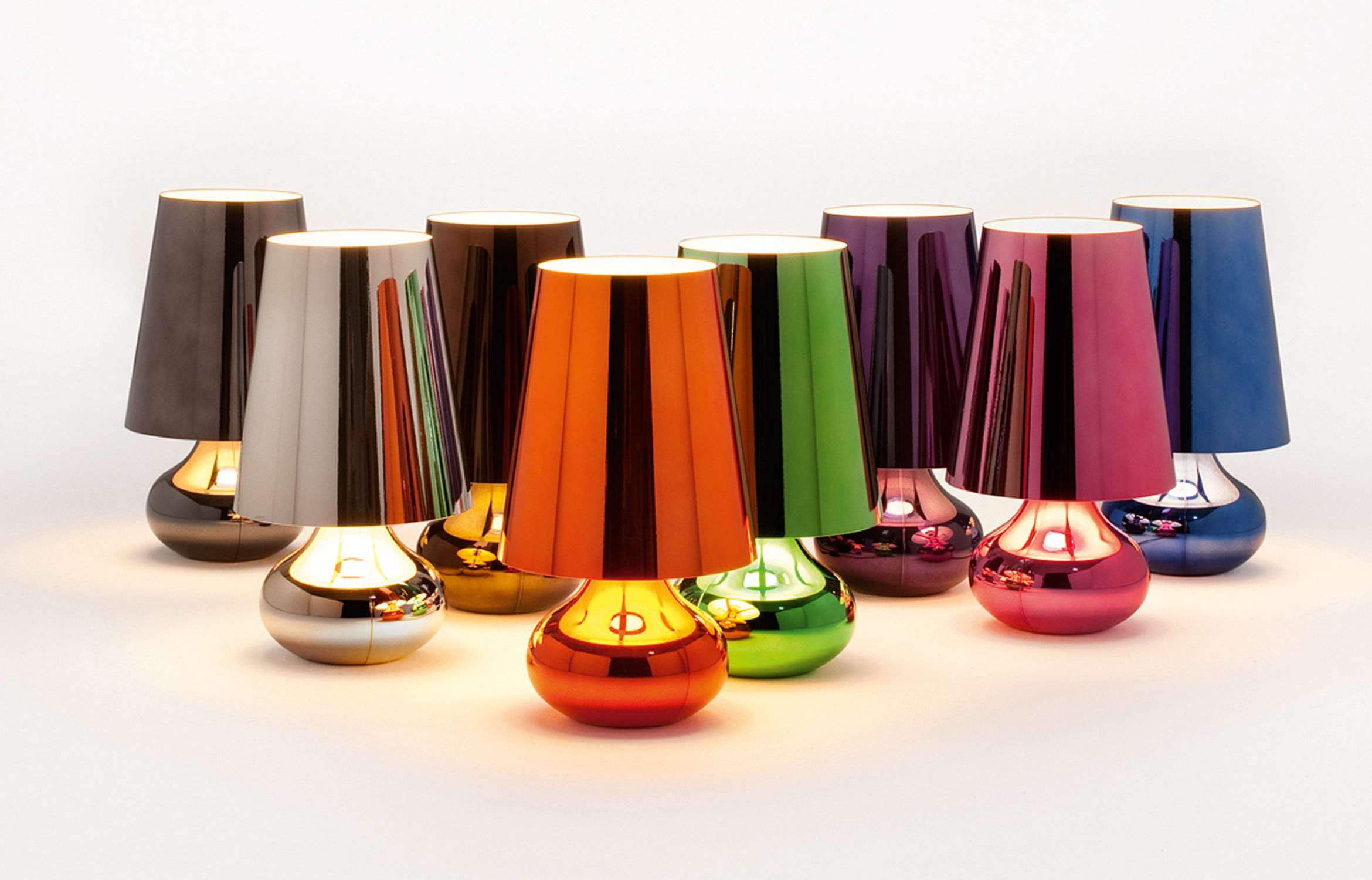 Cindy Table Lamp Pink By Kartell