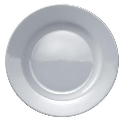 Assiette Platebowlcup Ø 27,5 cm A di Alessi blanc en céramique