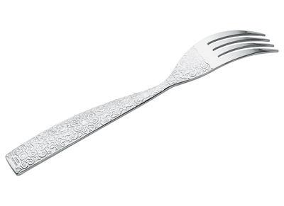 Fourchette Dressed - Alessi métal brillant en métal