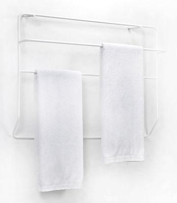 porte serviettes juno mural m tal l 90 x h 60 cm blanc serax. Black Bedroom Furniture Sets. Home Design Ideas