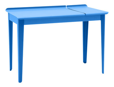 Bureau clapet bleu uni tolix for Mobilier bureau 44