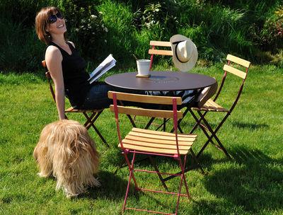 bistro metall holz fermob klappstuhl. Black Bedroom Furniture Sets. Home Design Ideas