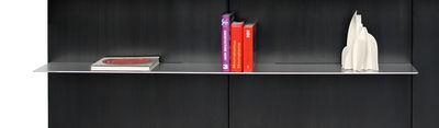 Libreria iWall - scaffale piatto - L 158 cm di Zeus - Alluminio - Metallo