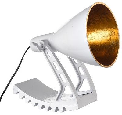 Foto Lampada da tavolo Rocking di Pols Potten - Bianco,Oro - Metallo