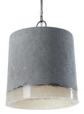 Concrete Pendelleuchte / Ø 18,5 cm - Serax - Weiß,Grau