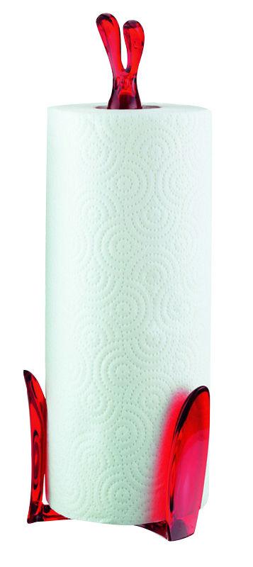 roger k chenrolle halter rot transparent by koziol made in design. Black Bedroom Furniture Sets. Home Design Ideas