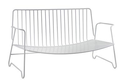 Divano Fish & Fish / L 115 cm - Con cuscino di seduta - Serax - Bianco - Metallo