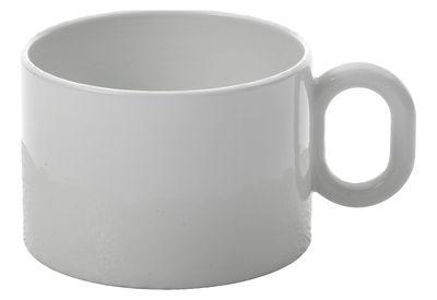 Tasse à thé Dressed - Alessi blanc en céramique