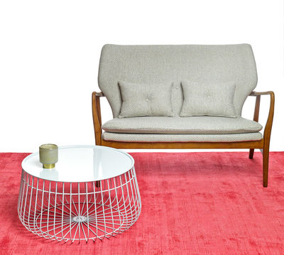 wire coffee table. Furniture - Coffee Tables Wire Table Removable Tray Ø 62 X H
