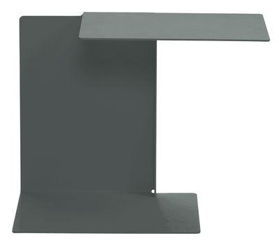 Tavolino d'appoggio Diana A di ClassiCon - Grigio basalto - Metallo