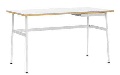 Bureau Journal / 1 tiroir - Normann Copenhagen blanc en bois