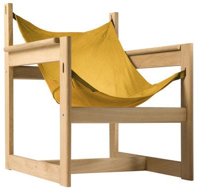 Pelicano Sessel - Objekto - Gold,Holz hell