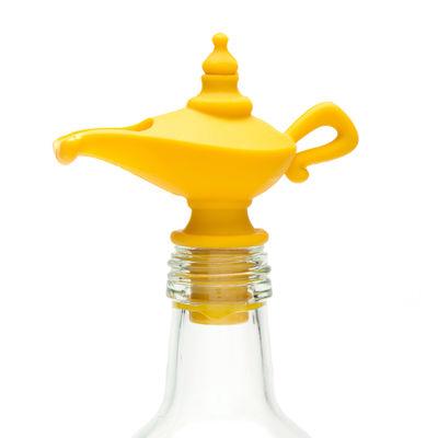 Bouchon verseur Oiladdin Universel Pa Design jaune en matière plastique