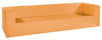 Divano bimbi Minus Club 04 - 4 posti di Quinze & Milan - Arancione - Materiale plastico