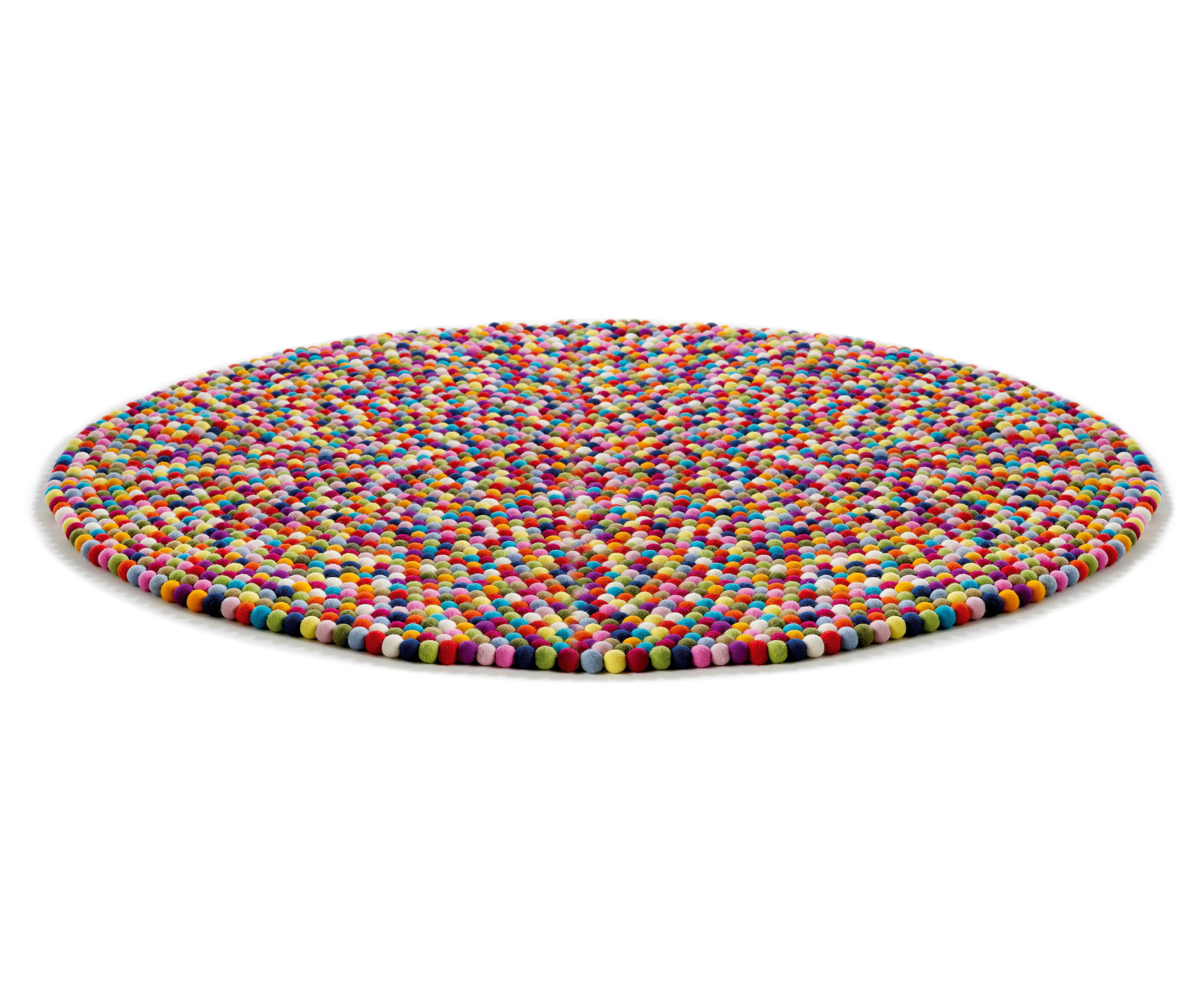 Pinocchio rug 140 cm multicolour by hay for Decor 140 rugs